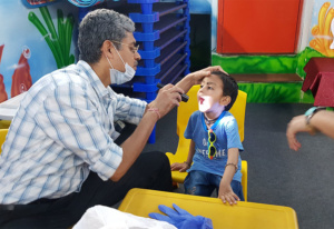 health checkup camp in play school